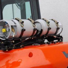 Xe nâng gas xăng heli 5-7 tấn