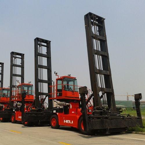 Xe nâng container 18 tấn