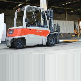 Xe nâng điện lithium 4-5 tấn Heli
