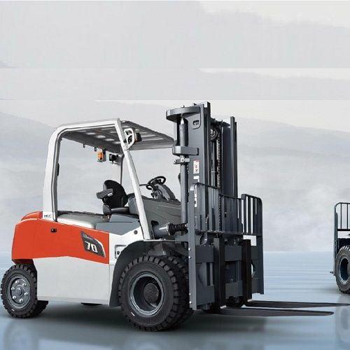 Xe nâng điện 6 tấn-7 tấn