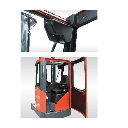 Xe nâng điện reach truck kho lạnh
