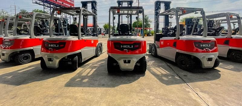 xe nâng điện Heli 1.5 tấn lithium