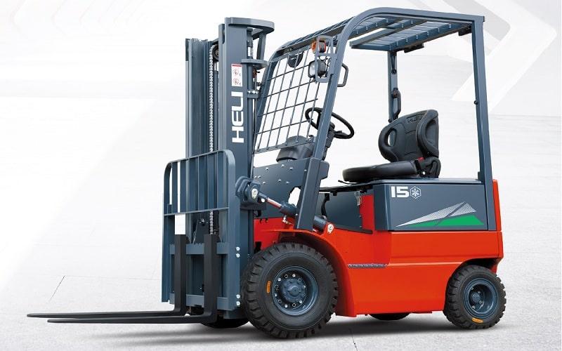 xe nâng điện kho lạnh 1.5 tấn