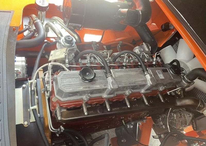 bảo dưỡng động cơ mitsubishi s6s xe nâng heli