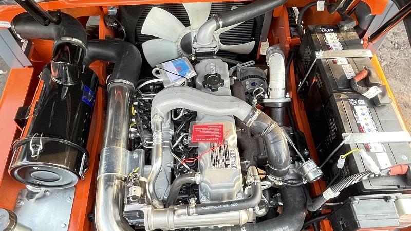bảo dưỡng động cơ quanchai 4c6 xe nâng heli