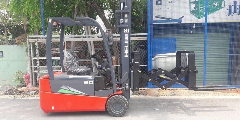 xe nâng điện kệ đôi càng kéo load extender