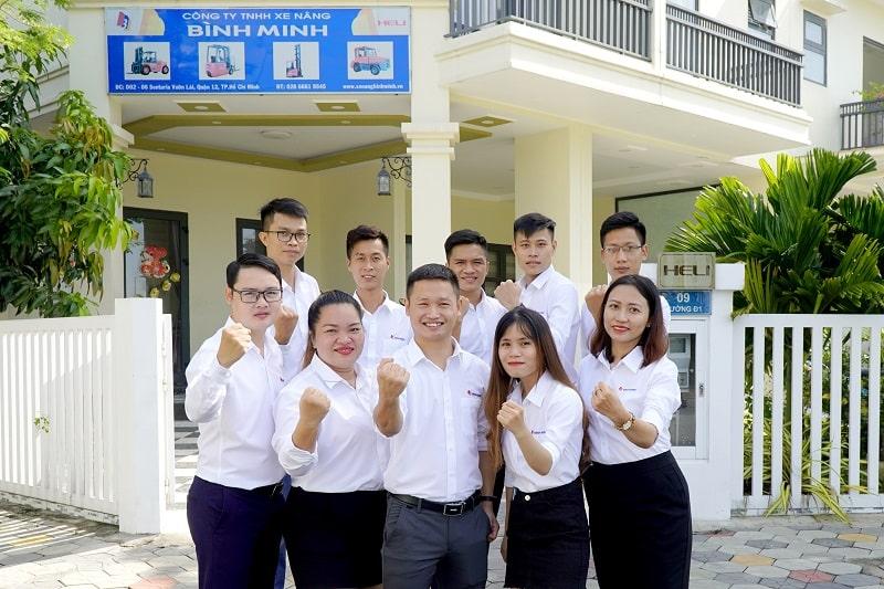 công ty xe nâng Heli Hồ Chí Minh
