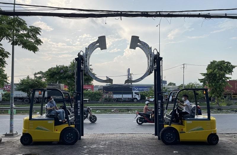 xe nâng Heli Hồ Chí Minh