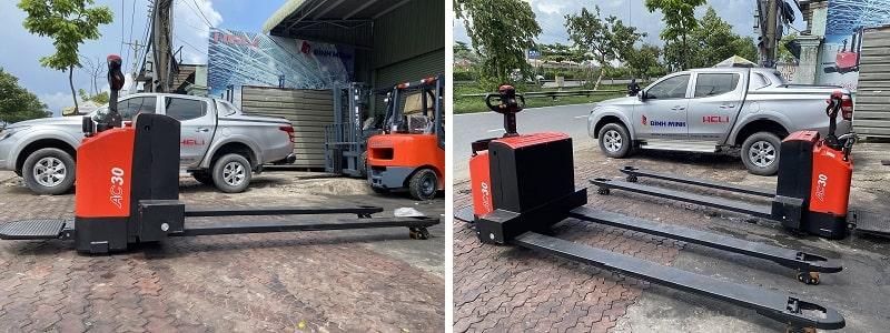xe nâng tay điện pallet truck 3 tấn