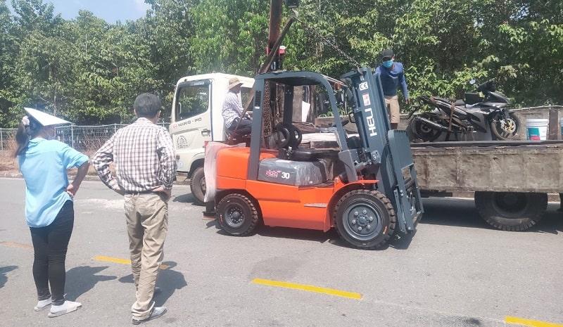 bán xe nâng HELI tại Tây Ninh