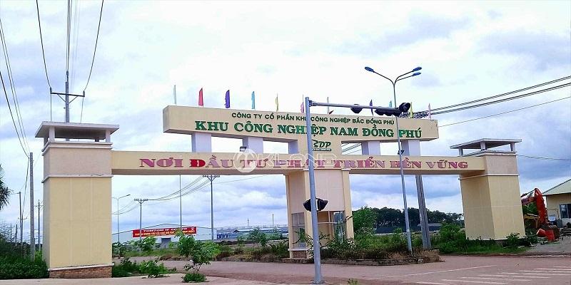 xe nâng tại Nam Đồng Phú Bình Phước