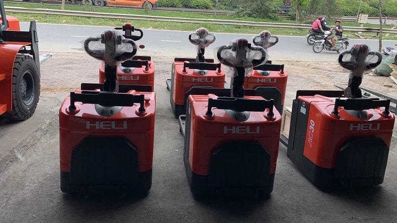 giá xe nâng tay điện Heli CBD20-410