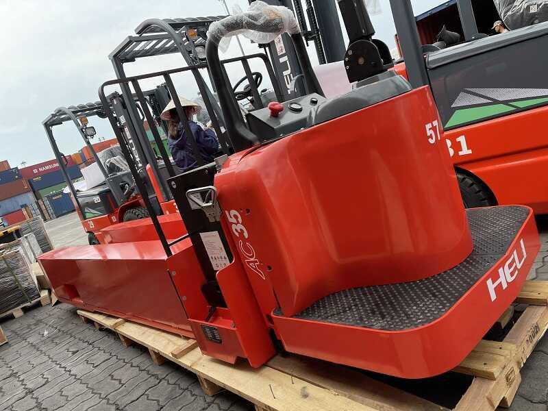 giá xe nâng tay điện Heli CBD35-510