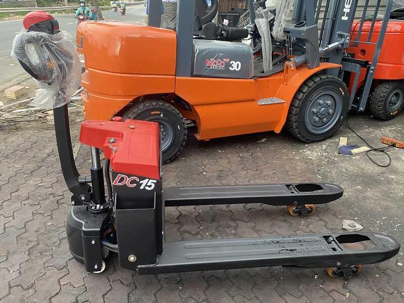 giá xe nâng tay điện Heli CBD15-170J