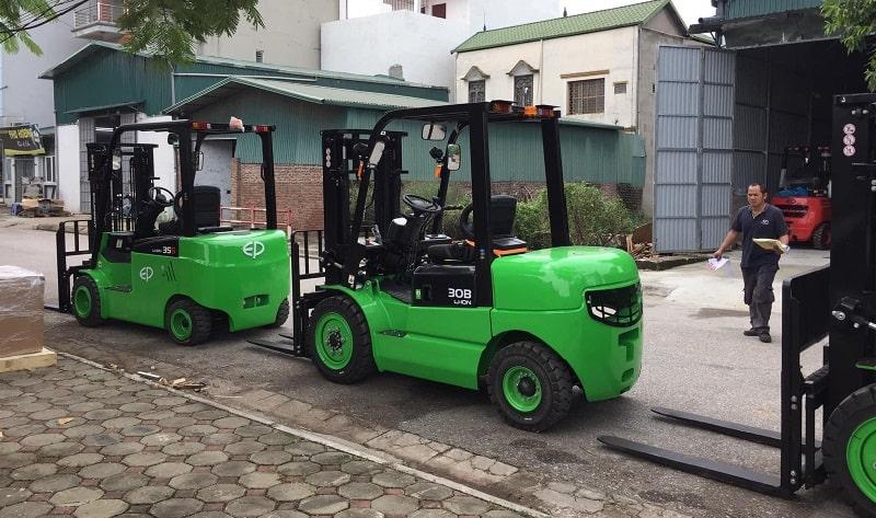 xe nâng EP tại Việt Nam