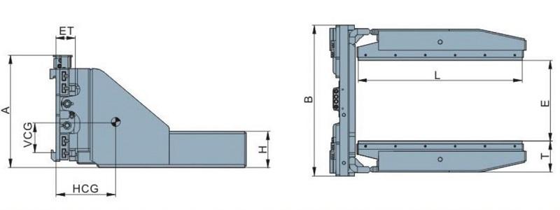 thông số kỹ thuật bộ kẹp gạch block clamps