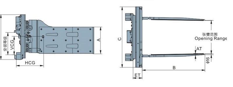 bộ kẹp xoay Revolling Multi-purpose Clamps