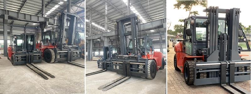 Bộ công tác dịch càng xe nâng 7 tấn và 16 tấn