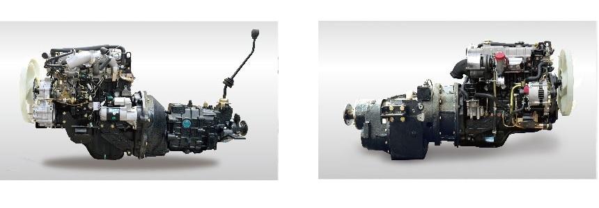 Hệ thống truyền động xe đầu kéo diesel Heli