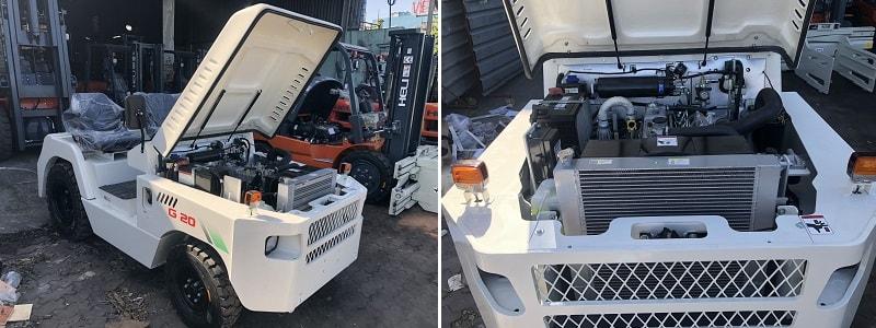 xe đầu kéo diesel 2 tấn