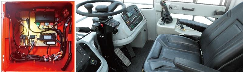 hệ thống điện trên xe nâng container rỗng HELI