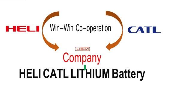 ắc quy CATL trên xe nâng điện lithium