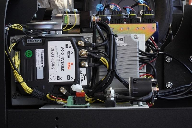 bo mạch điều khiển xe nâng điện đứng lái heli