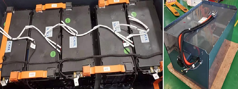bình lithium xe nâng điện reach truck