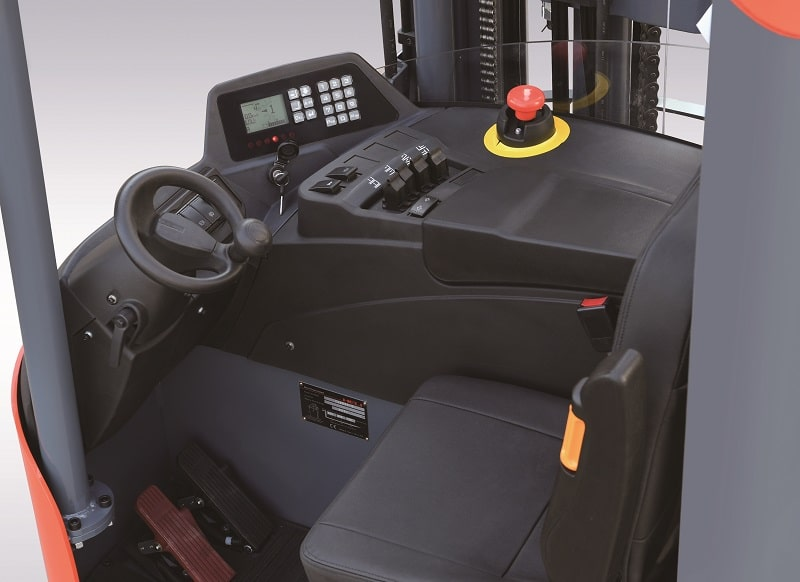 cabin lái xe nâng reach truck Heli