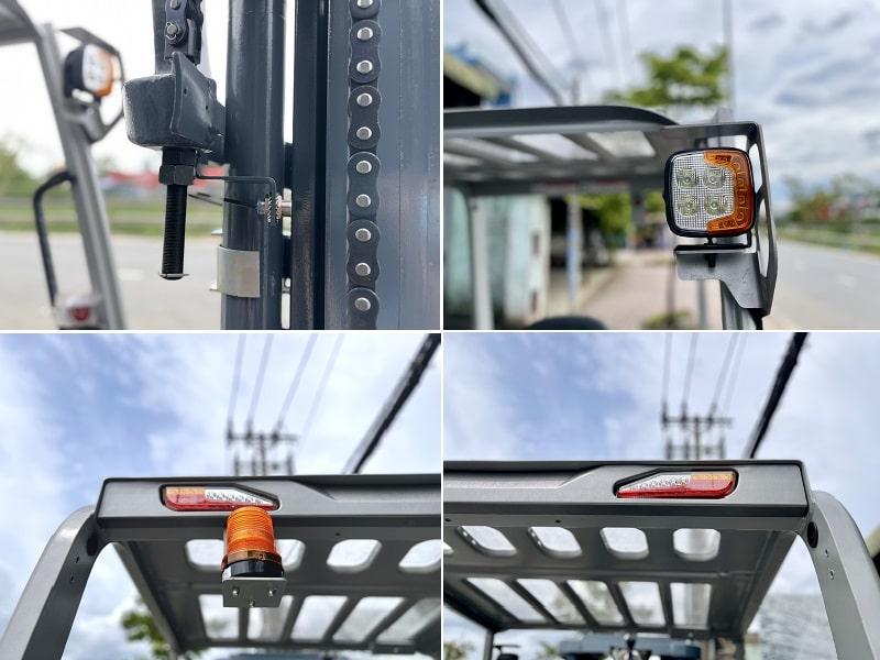 đèn xe nâng điện Heli 5 tấn