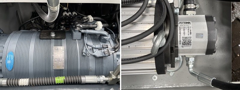 mô tơ điện xe nâng 5 tấn