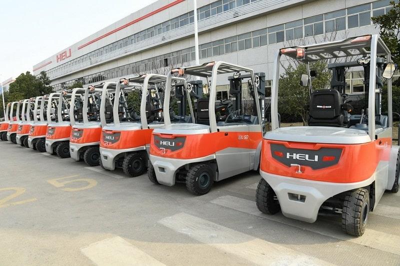 xe nâng điện 5 tấn tại Việt Nam