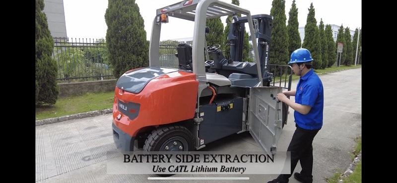 bình điện Lithium xe nâng điện 6 tấn
