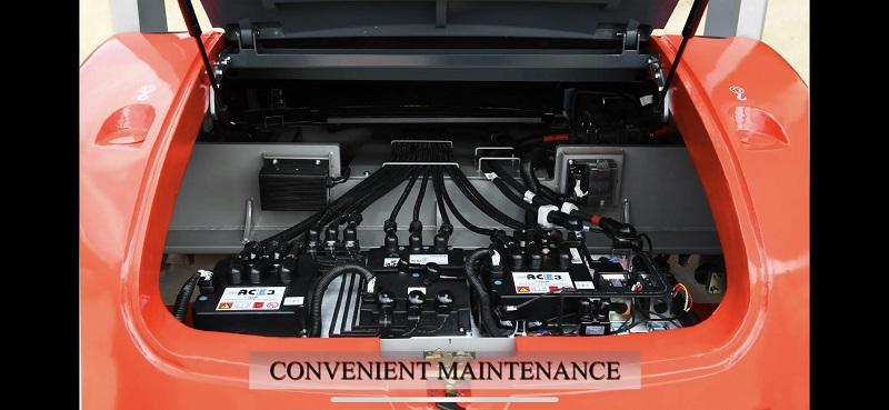 bo mạch điều khiển xe nâng điện 6 tấn