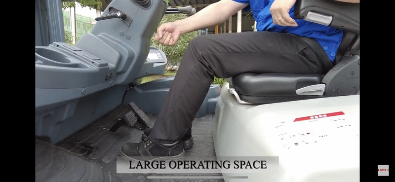 ghế xe nâng điện 6 tấn