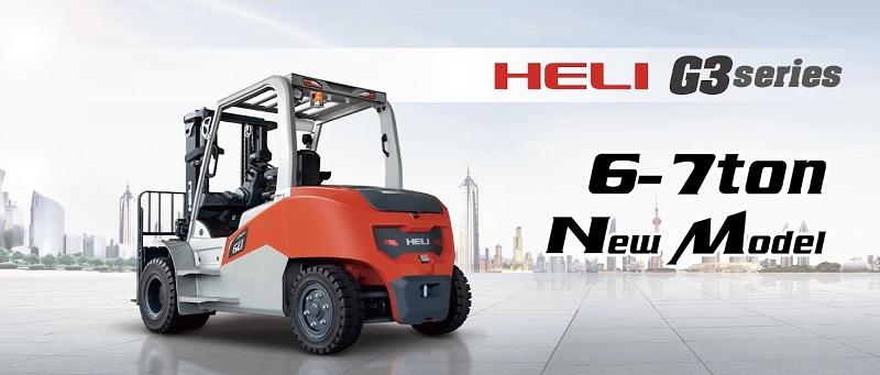 xe nâng điện Heli 6-7 tấn model G3 series