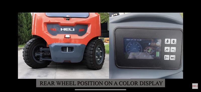 Xylanh lái xe nâng điện 6 tấn