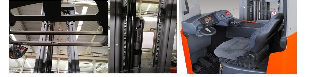 Khung nâng cabin xe nâng điện reach truck ETV