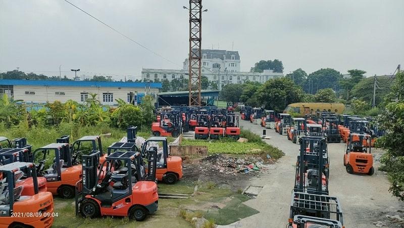 mua xe nâng 2 tấn tại Hà Nội