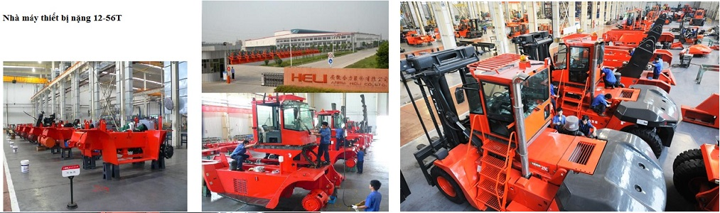 Nhà máy sản xuất thiết bị nặng xe nâng Heli