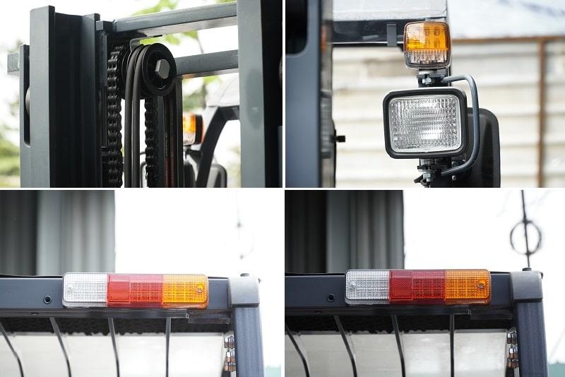 Đèn xe nâng 3 tấn và 3,5 tấn Heli