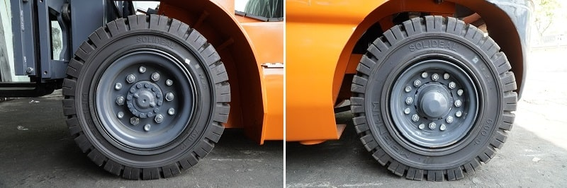 Lốp xe nâng 3 tấn và 3,5 tấn