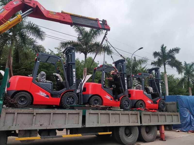 mua xe nâng Heli 3.5 tấn tại Đồng Nai