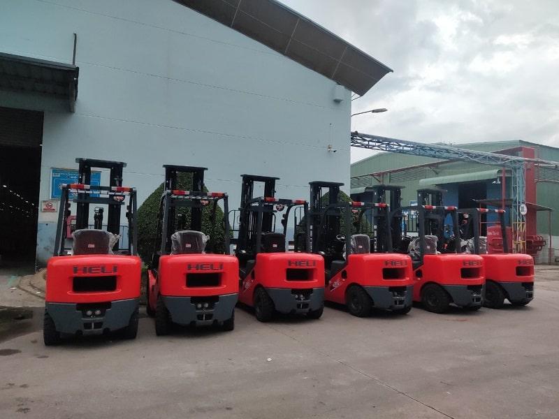 xe nâng Heli 3 tấn tại Đồng Nai