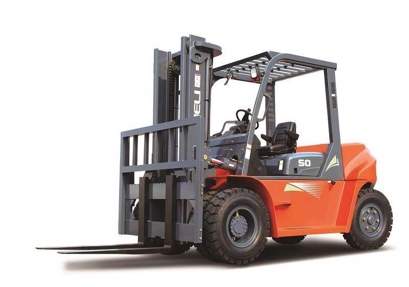 xe nâng 5 tấn Heli CPCD50