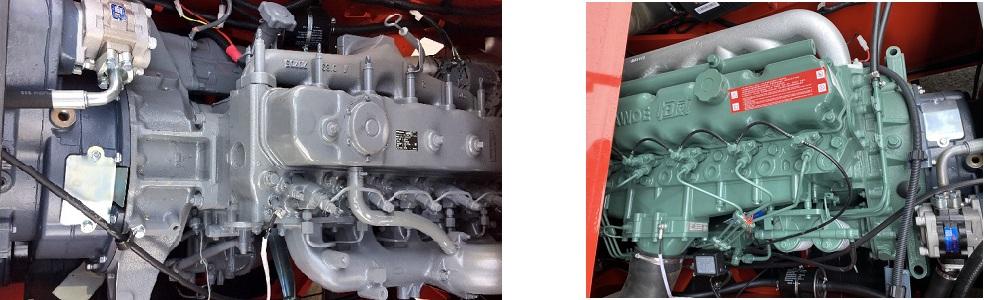 động cơ lắp trên xe nâng hàng Heli 8.5 tấn