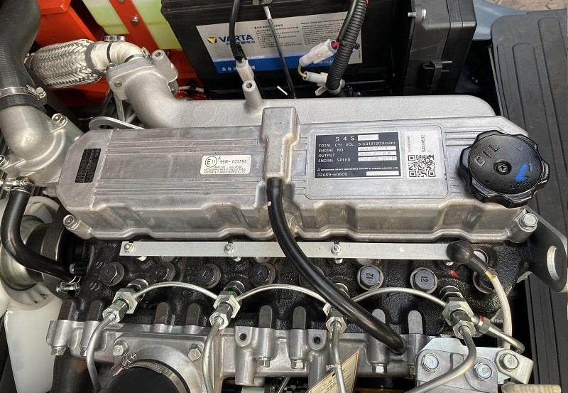 Động cơ Mitsubishi S4S trên xe nâng 3 tấn